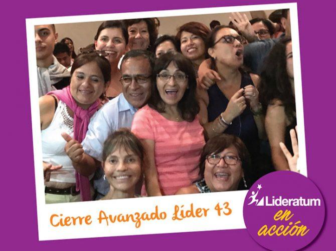CIERRE AVANZADO LÍDER 43