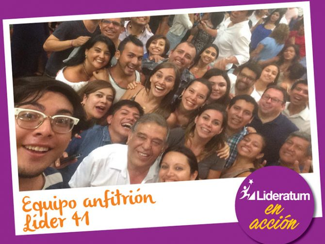 EQUIPO ANFITRION LIDER 41